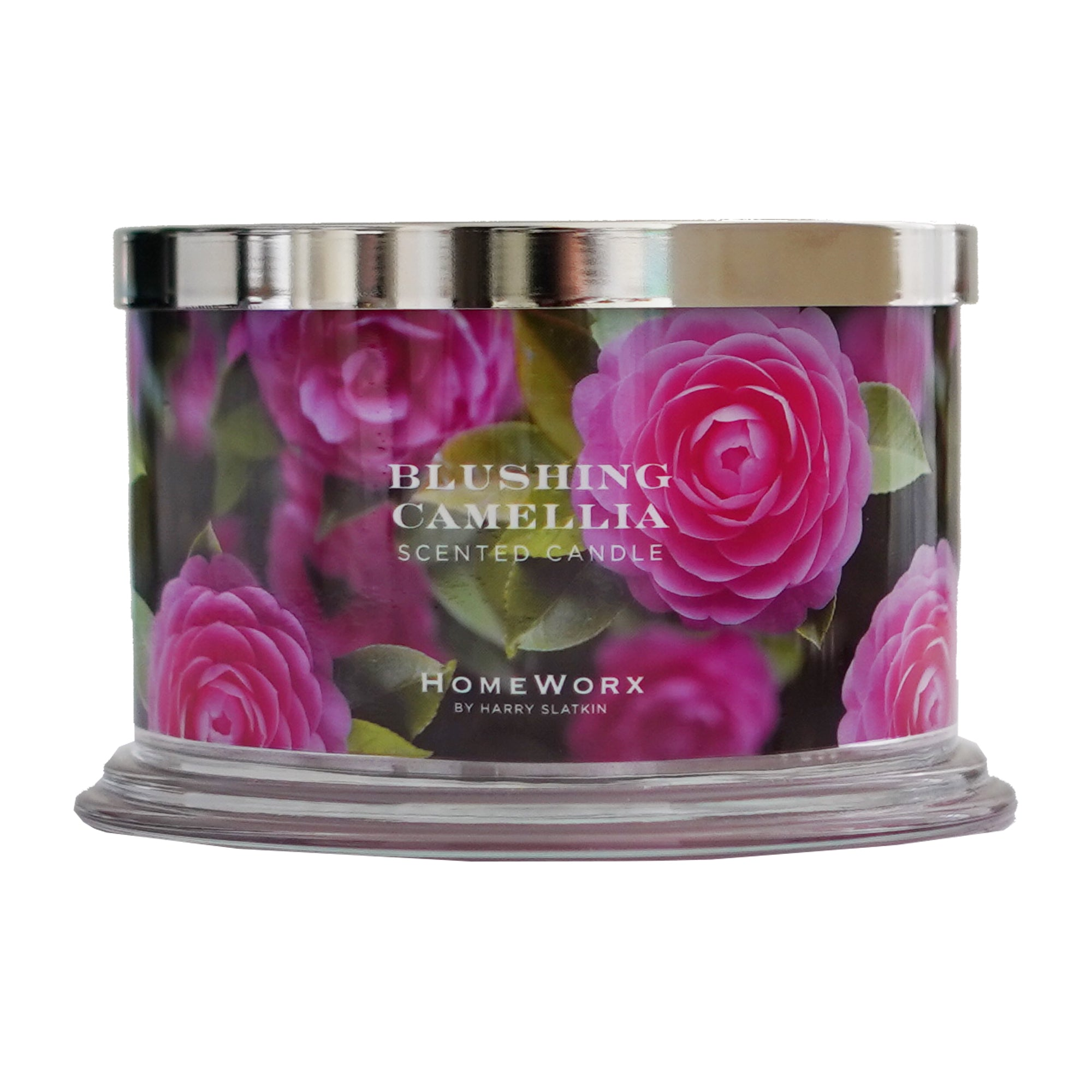 Blushing Camellia 4-Wick Candle