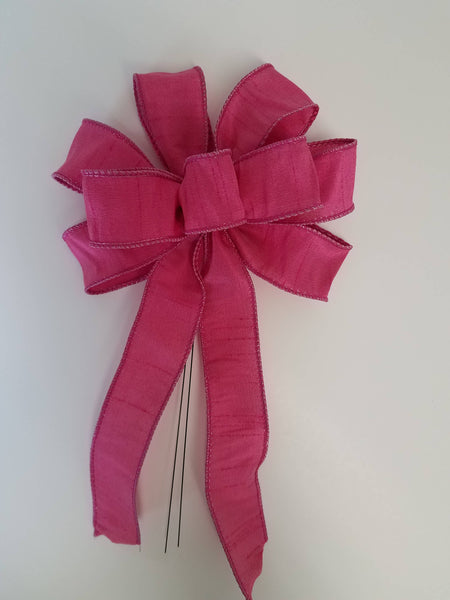 "Small 5-6"" Hand Made Pink Bows"