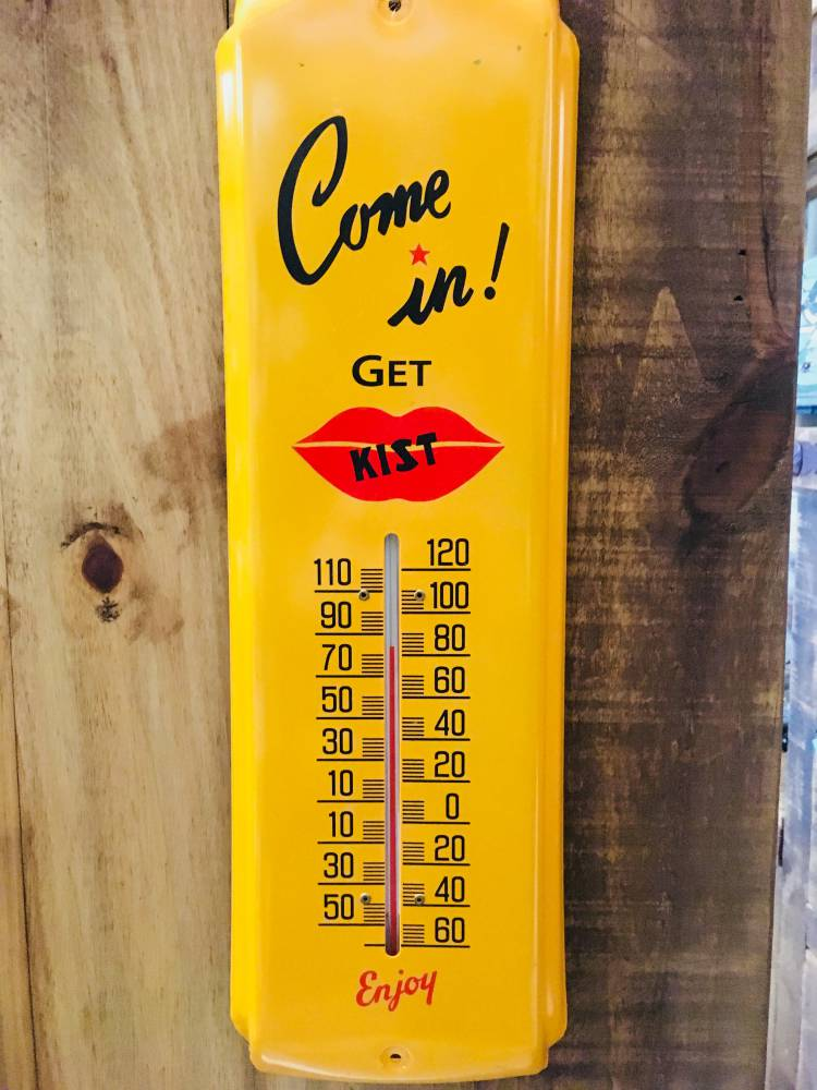 Kist Soda Vintage Style Thermometer Indoor / Outdoor - Home & Garden
