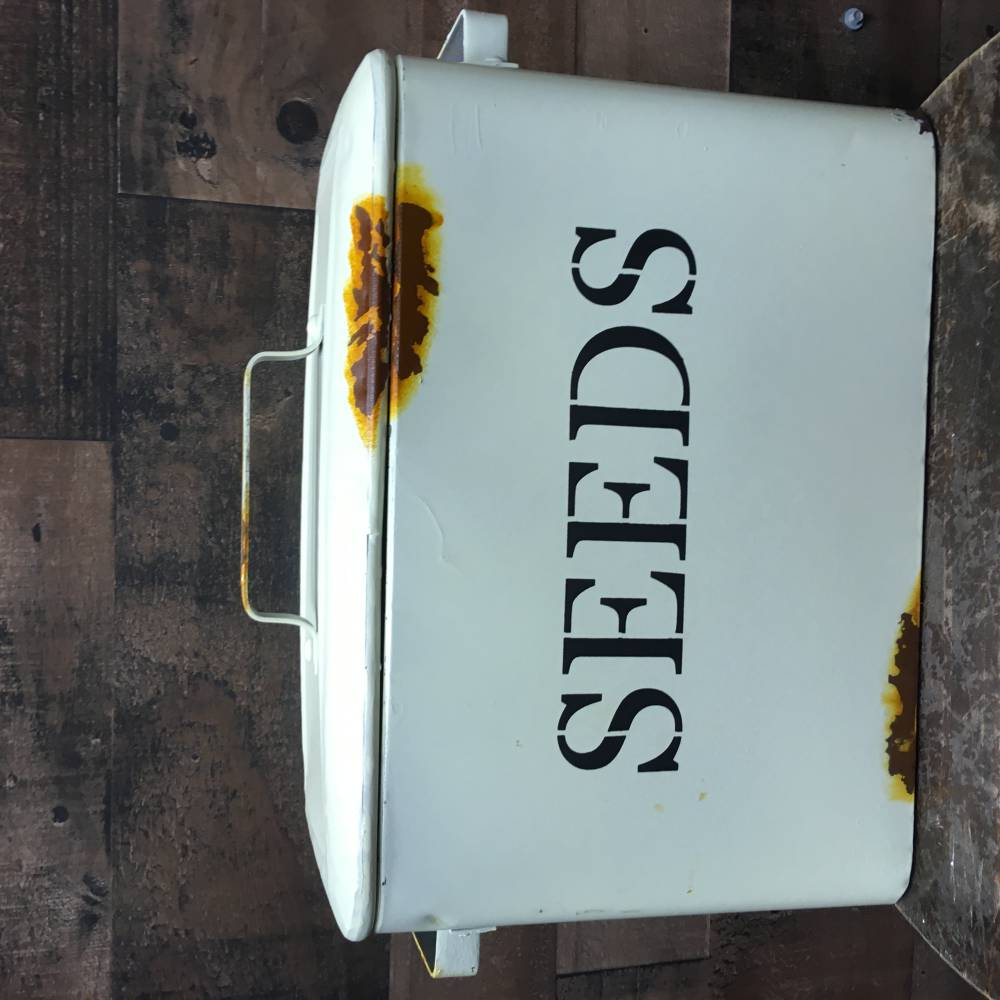Large Seeds Container – Multi-Purpose Storage - Country Home & Garden