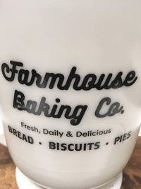 Milk Glass Large Measuring Cup 4 cups / 1 quart - Farmhouse Kitchen