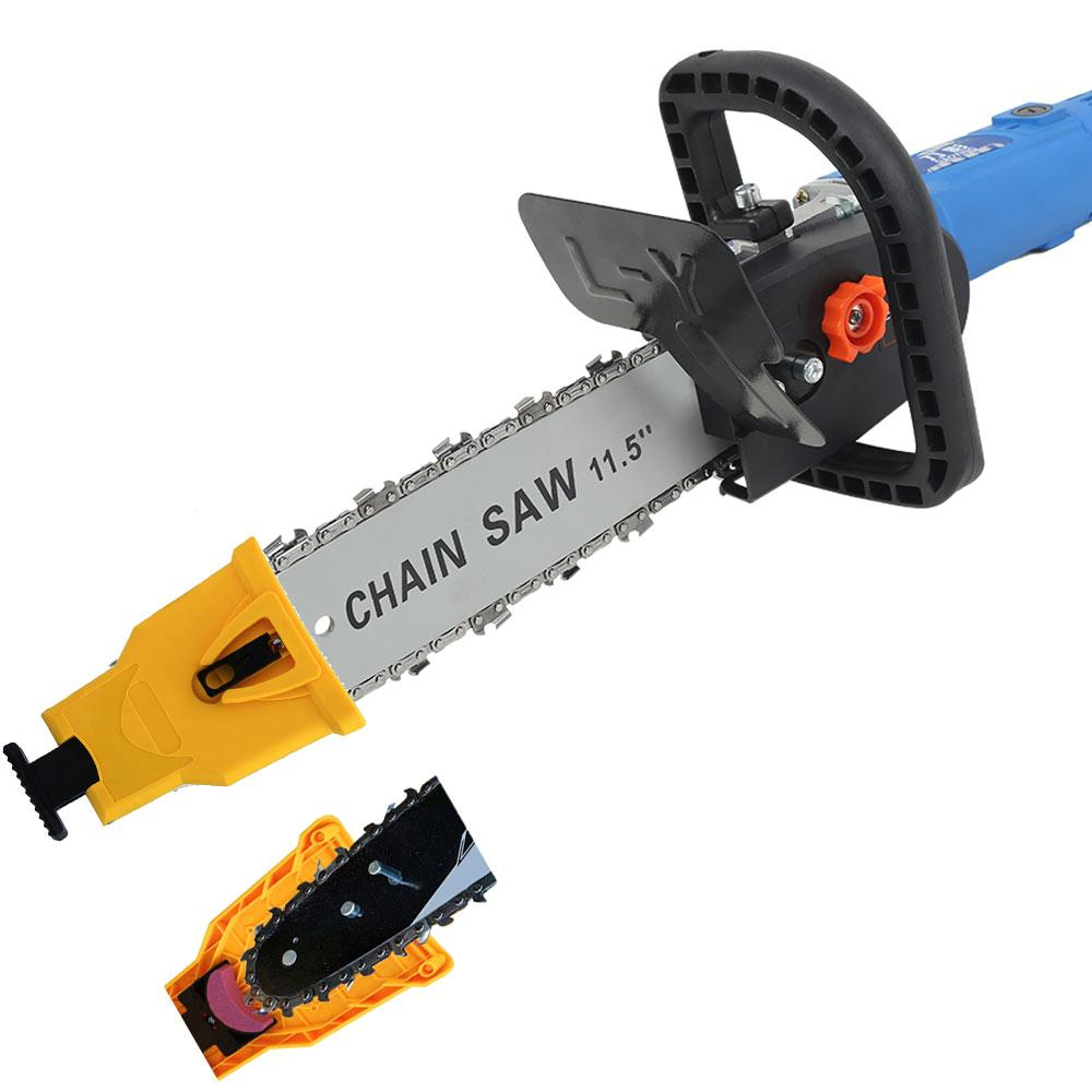 Angle Grinder Chainsaw Attachment