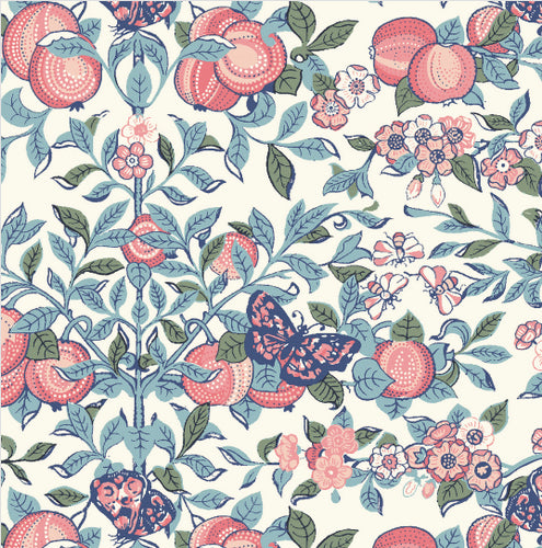 Liberty Orchard Blue/Coral