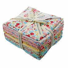 Load image into Gallery viewer, Antique Flower Pastel Fat Quarter Pack
