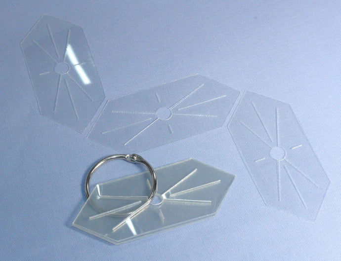 Eppiflex Elongated Hexagon Templates