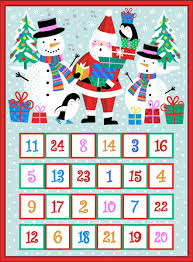 Jolly Santa Advent Calendar