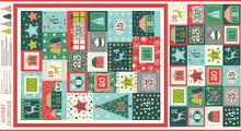 Load image into Gallery viewer, 'Merry Advent' Christmas Panel