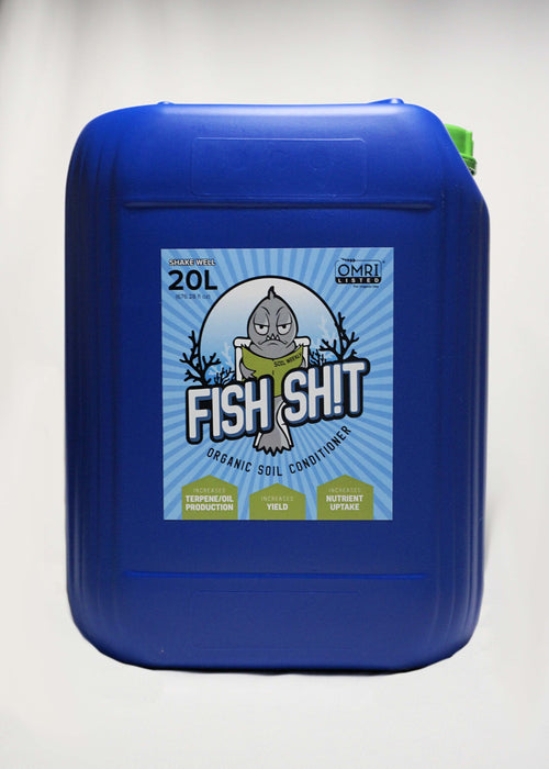 Fish Sh!t - Organic Soil Conditioner