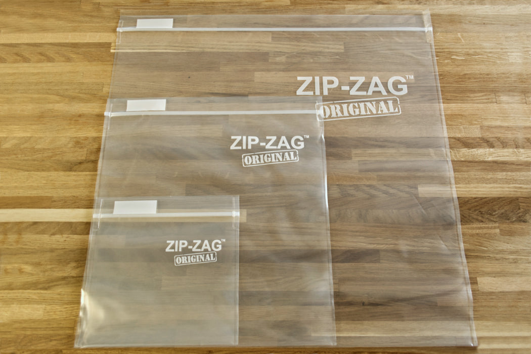 Zip Zag Bag X-Large Smell Proof Reusable Bag - 2 lbs (10 pack)