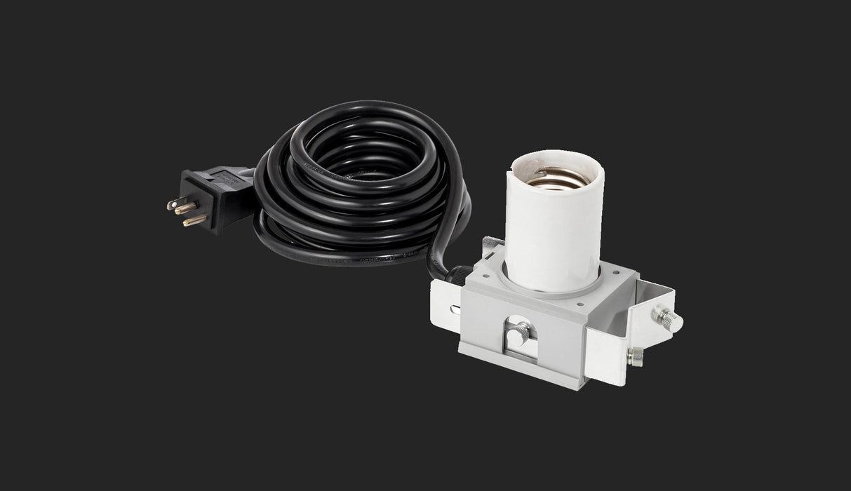 Adjustawings E40 Lamp Holder - IEC Cable, USA Cable or No Cable
