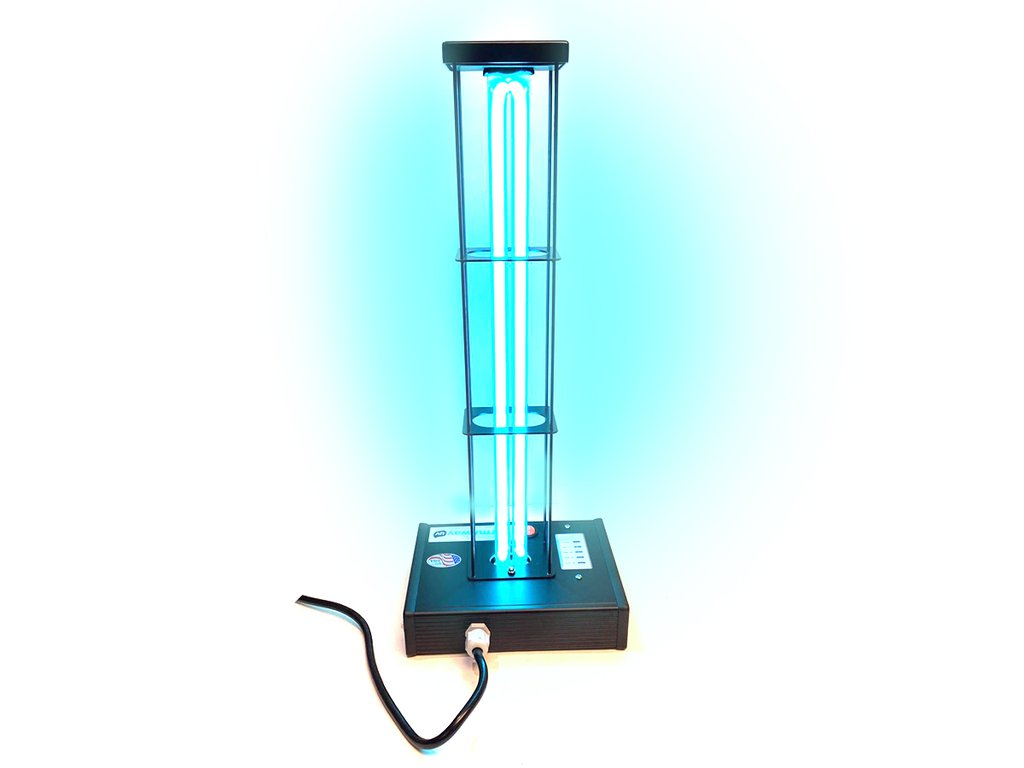 Deluxe GermAwayUV 95 Watt UV-C Surface Sanitizer with Cage