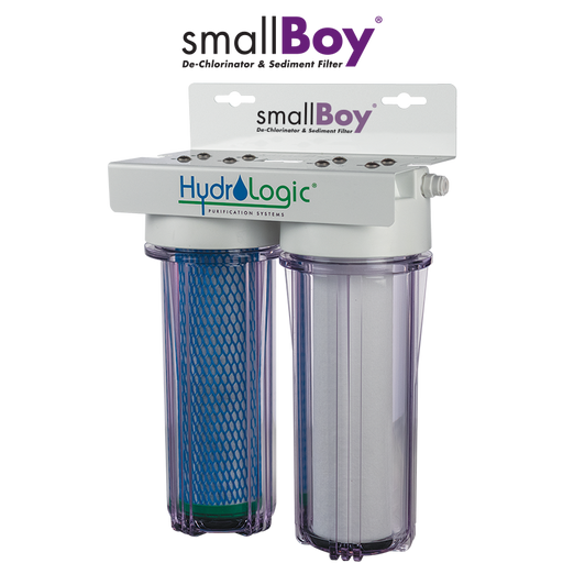 Hydrologic smallBoy® Dechlorinator & Sediment Filter