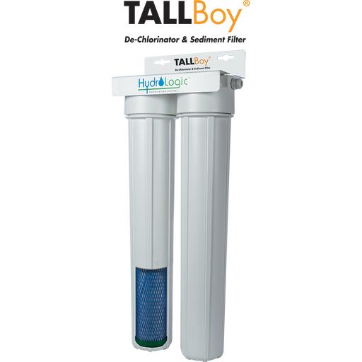 Hydrologic TALLBoy® Dechlorinator & Sediment Filter