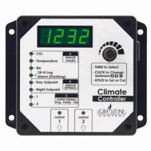 Grozone HTC- Climate Controller (TEMP RH AND CO2)