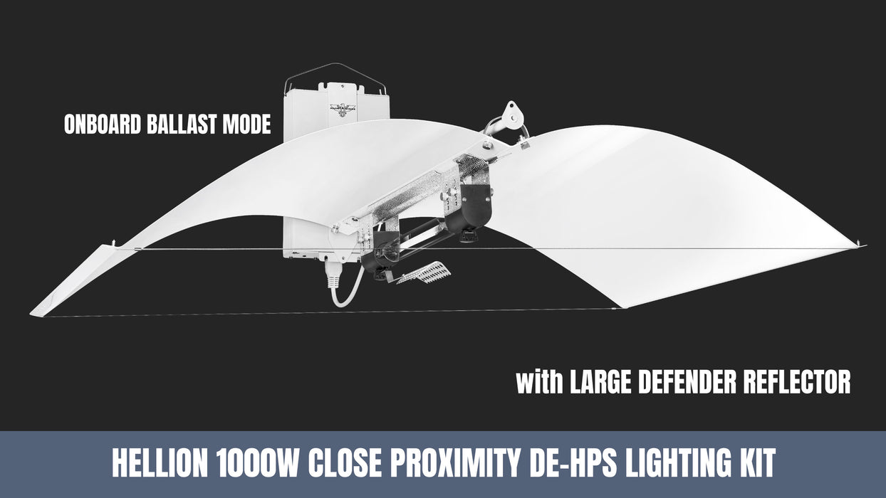 Adjustawings Hellion 1000 W DE HPS Lighting Kit Close Proximity 240V