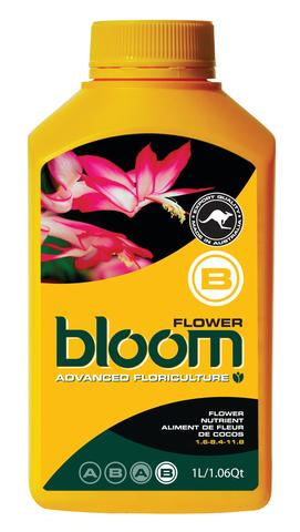 Bloom Flower B Yellow Bottles