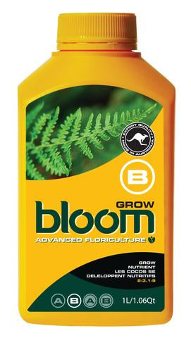 Bloom Grow B Yellow Bottles