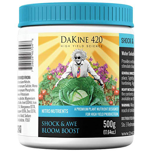 nitro nutrients shock and awe bloom boost 500 g