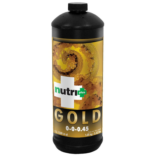 NEW Nutri Plus Gold 0-0-0.45 - Fulvic Acid 15%