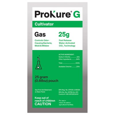 Prokure G 25 grams Cultivator Fast Release Gas