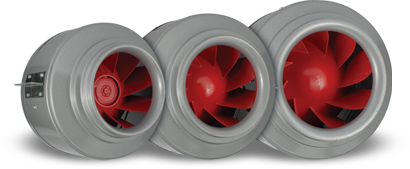 Vortex Powerfans V Series Inline Fans