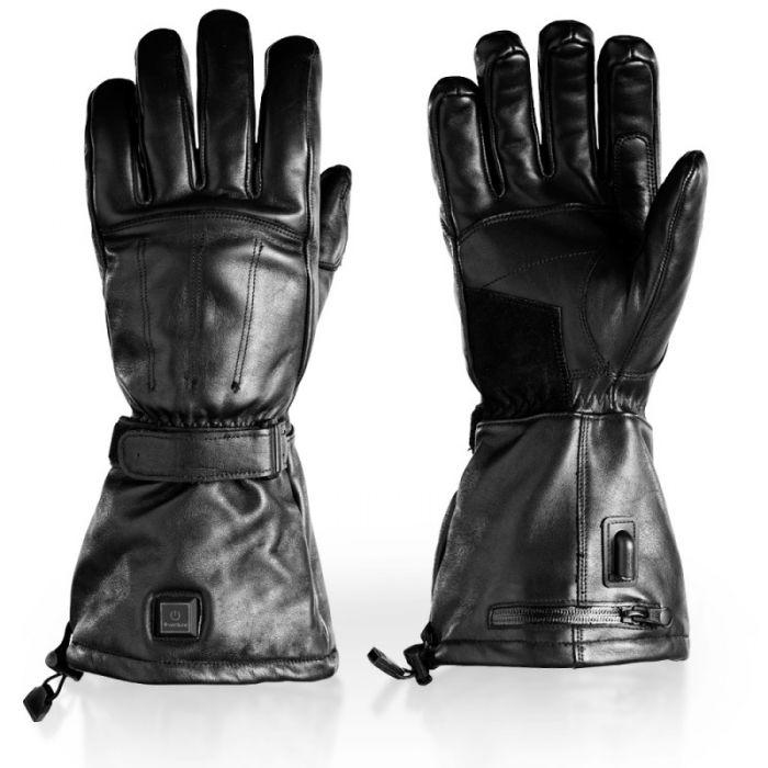 Load image into Gallery viewer, Cruiser Hybrid Motorcycle Heated Gloves - Portable Battery Compatible