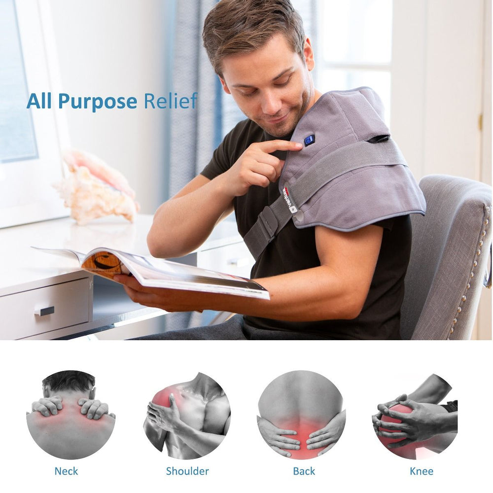 Load image into Gallery viewer, Infrared Heated Universal Pain Relief Wrap