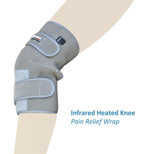 Load image into Gallery viewer, Infrared Heat Therapy Pain Relief Knee Wrap