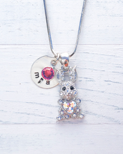 Load image into Gallery viewer, Bunny Necklace | Bunny Gift | Personalized Necklace | Christmas gifts for mom | Christmas gifts for her | Christmas gifts for women
