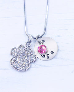 Dog Paw Necklace | Dog Paw Gift | Personalized Necklace | Christmas gifts for mom | Christmas gifts for women | Christmas gift for her