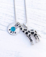 Load image into Gallery viewer, Giraffe Gift | Giraffe Necklace | Giraffe Jewelry | Giraffe Charm | Giraffe necklace for woman | Christmas gifts for her under 35