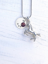 Load image into Gallery viewer, Horse Gifts | Horse Necklace | Personalized Necklace | Christmas gifts for mom | Christmas gifts for her | Christmas gifts for women