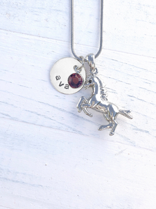 Horse Gifts | Horse Necklace | Personalized Necklace | Christmas gifts for mom | Christmas gifts for her | Christmas gifts for women