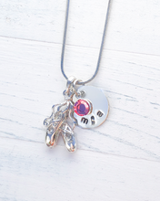Load image into Gallery viewer, Ballerina Necklace | Ballerina Gift | Ballet necklace | Ballerina Gifts Girls | Ballerina Charm | Ballet Gifts | Christmas gifts for women