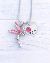 Load image into Gallery viewer, Tinkerbell Gift | Tinkerbell Necklace | Personalized Necklace | Christmas gifts for mom | Christmas gifts for her  Christmas gifts for women