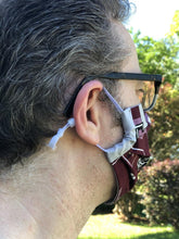 Load image into Gallery viewer, Aggies Face Mask with pocket filter and nose wire option | Adjustable Ear Loops | USA made | Quick Ship | Machine Washable