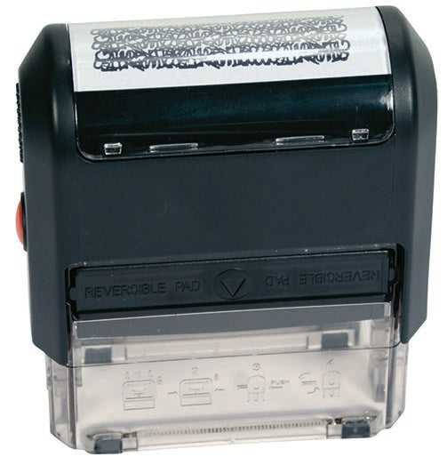 Self Inking Privacy Stamp