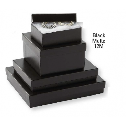 Black Matte Jewellery Boxes