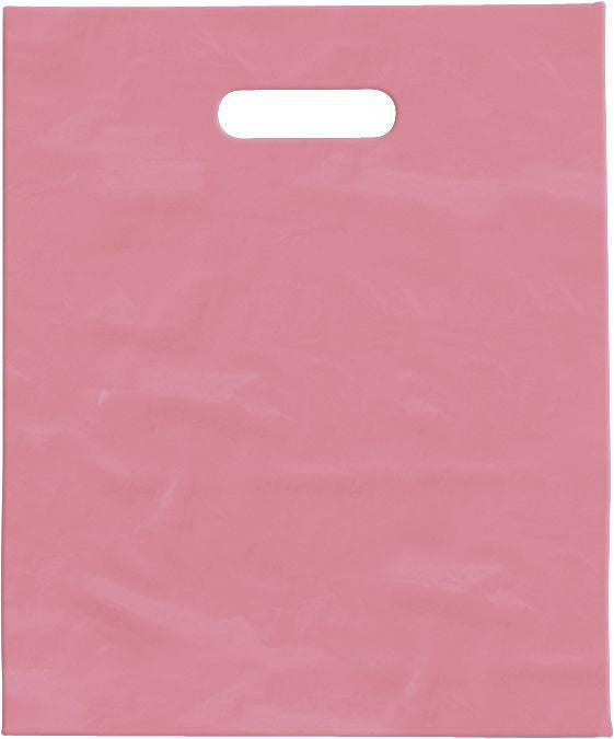 Frosted clear & coloured Merchandise Bags