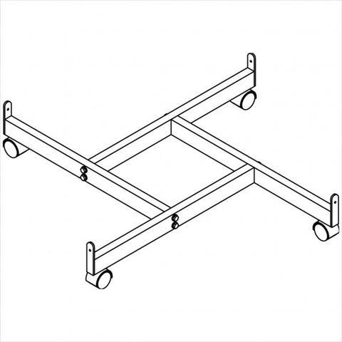 4 Way (Pinwheel) Base for Gridwall