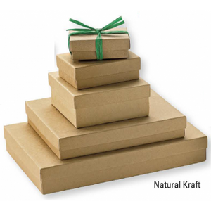 Natural Kraft Jewel Boxes