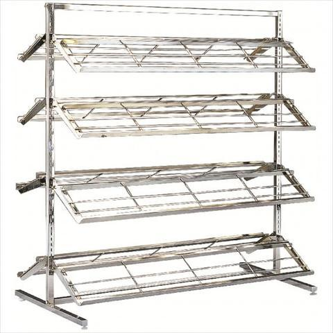 Double-Sided Shoe Rack