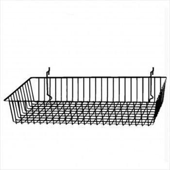 Wire Basket for Gridwall or Slatwall