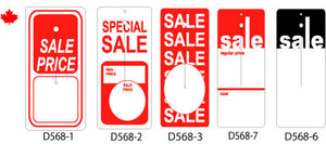 Large Stock Sale Hang Tags