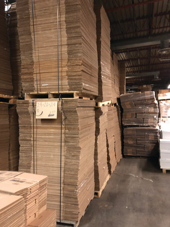 Used Corrugated Boxes