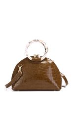 Load image into Gallery viewer, Gladys Top Handle Bag - Coffee