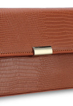 Load image into Gallery viewer, Sienna Baguette Bag (Brown)