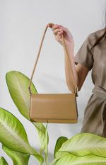 Load image into Gallery viewer, Lena Shoulder Bag With Pouch (2in1) - Beige