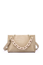 Load image into Gallery viewer, Frederica Shoulder Bag (Nude)