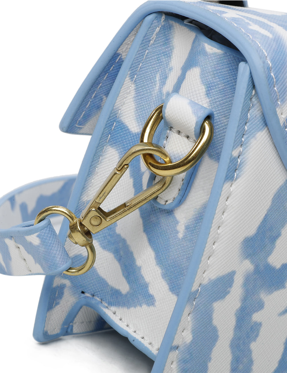 Milly Top Handle Bag (Sky Blue)